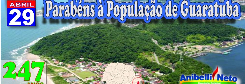 Parabéns à População de Guaratuba