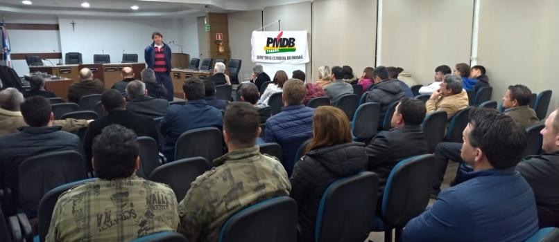Reunião do MDB de União da Vitória