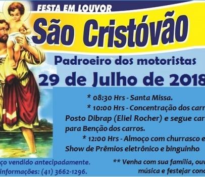 Grandiosa Festa de são Cristóvão em Cerro Azul