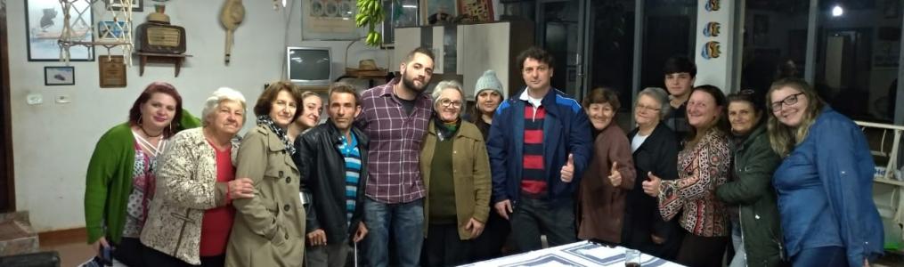 Anibelli visita companheiros da cidade de Barra do Jacaré