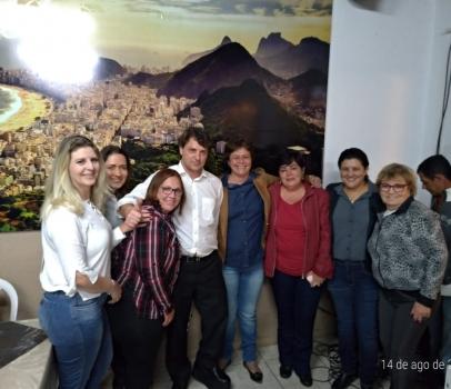 Reunião em Pontal do Paraná