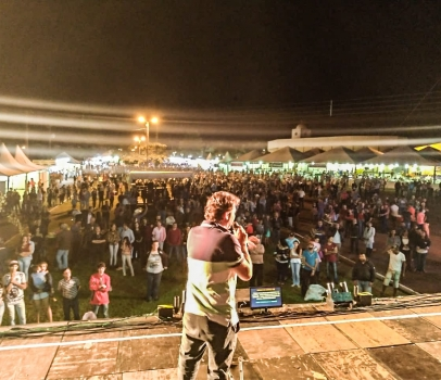 Em Mauá da Serra, Anibelli Neto participa da 23° Festa do Milho