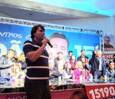 Anibelli Neto lança sua campanha 15190 para deputado estadual junto com João Arruda 15, para governador.