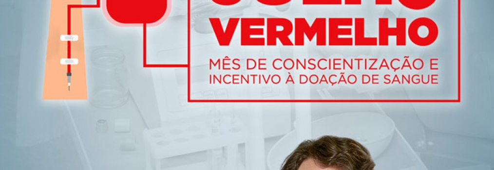 """Anibelli Neto propõe """"Julho Vermelho"""" para incentivar doação de sangue"""