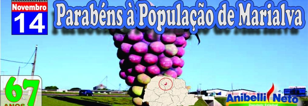 Parabéns à População de Marialva
