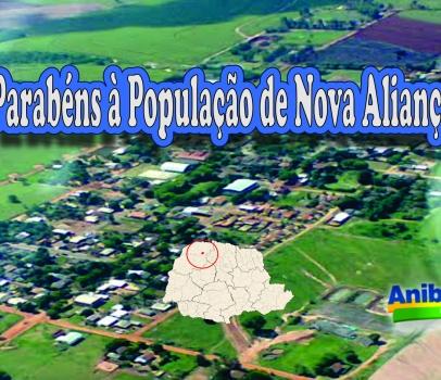 Parabéns à População de Nova Aliança do Ivaí
