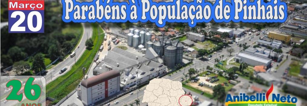 Parabéns à População de Pinhais