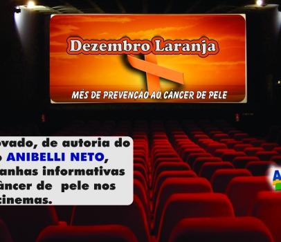 Aprovada proposta de Anibelli Neto que prevê campanhas informativas contra o câncer de pele nos cinemas
