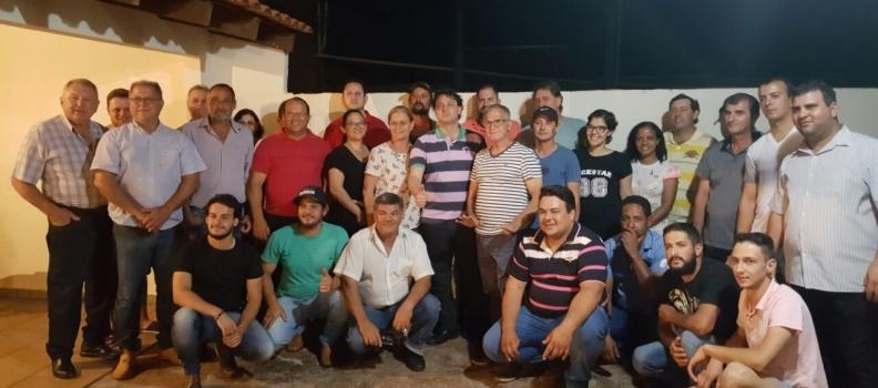 Deputado Anibelli Neto participa da Reunião do PMDB no Município de Jussara.
