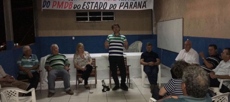 Anibelli participa da Reunião do PMDB de Loanda
