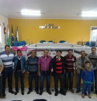 Anibelli Neto participa da Convenção do PMDB da Cidade de Antônio Olinto.