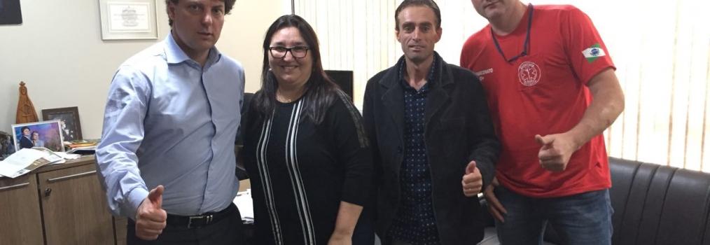 Anibelli Recebe Secretária de Saúde de Guaramiranga