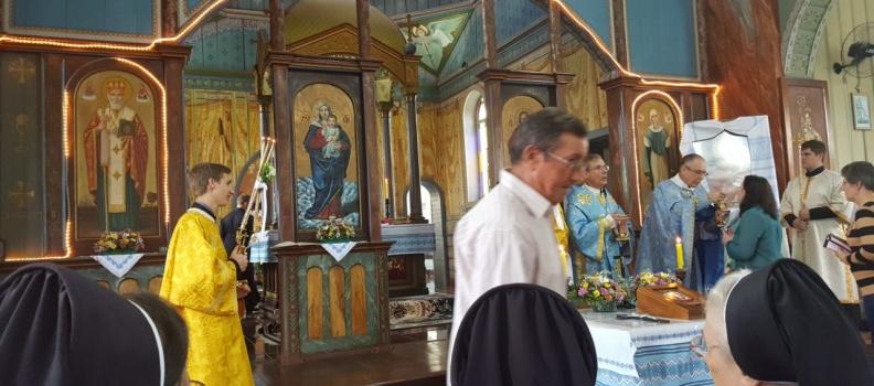 Santa Missa no Santuário de Nossa Senhora dos Corais