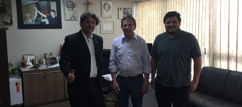 Autoridades de Agudos do Sul visitam Anibelli Neto