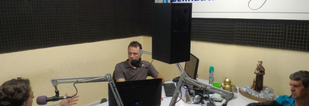 Entrevista a Rádio Celinauta em Pato Branco