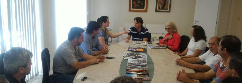 Anibelli Neto visita sede do Jornal Noroeste em Pato Branco