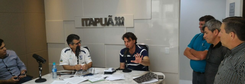 Entrevista ao amigo Carrapicho da Rádio Itapuã