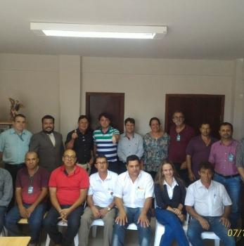 Visita ao Prefeito Rogério Riguetti do PMDB na Cidade de Engenheiro Beltrão.
