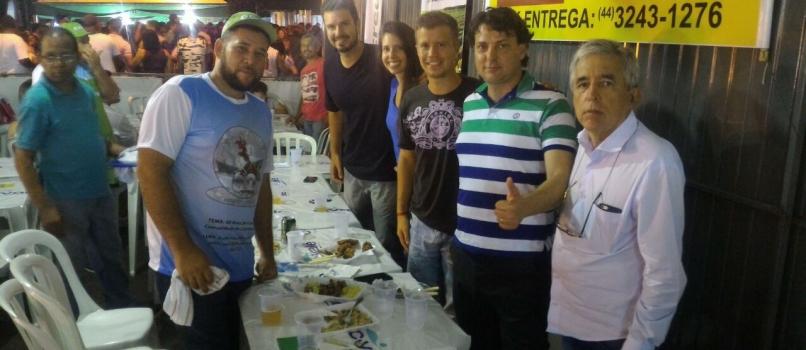 Deputado Anibelli Neto prestigia a Festa das Nações em São Jorge do Ivaí.