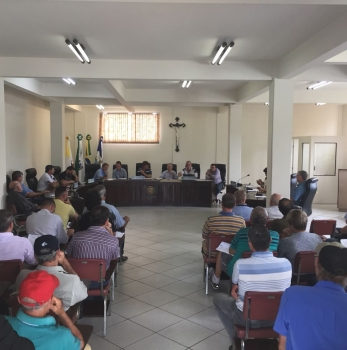 Política Pública de Incentivo a Erva Mate é discutida em São Mateus do Sul.