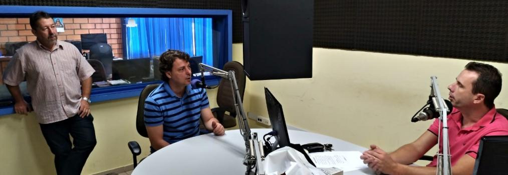 Anibelli Neto concedeu entrevista ao amigo Matheus da Radio Celinauta AM 1010.