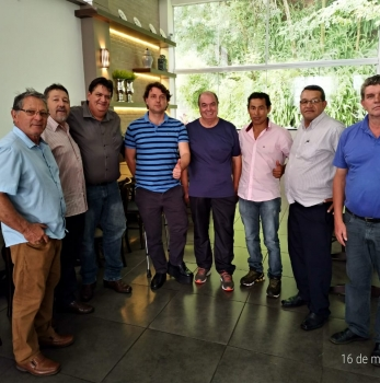 Anibelli com Amigos do MDB de Pato Branco