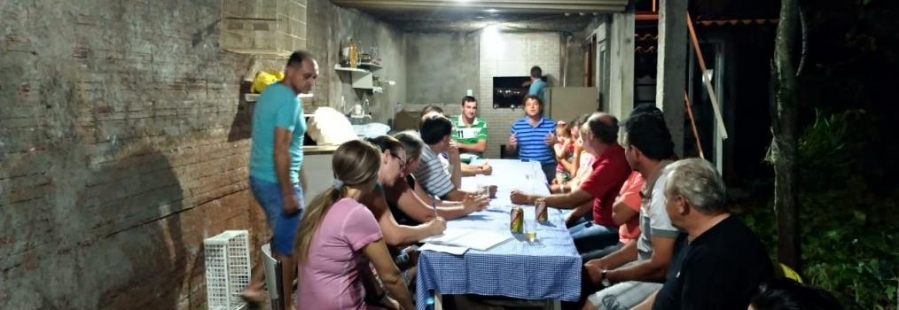 Visita ao amigo Jair Morgan em Nova Prata do Iguaçu.
