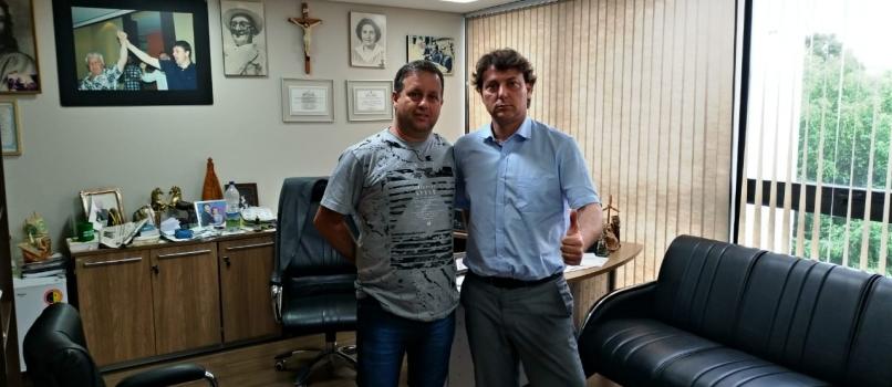 Visita do Amigo Neno Presidente do MDB de Munhoz de Mello.