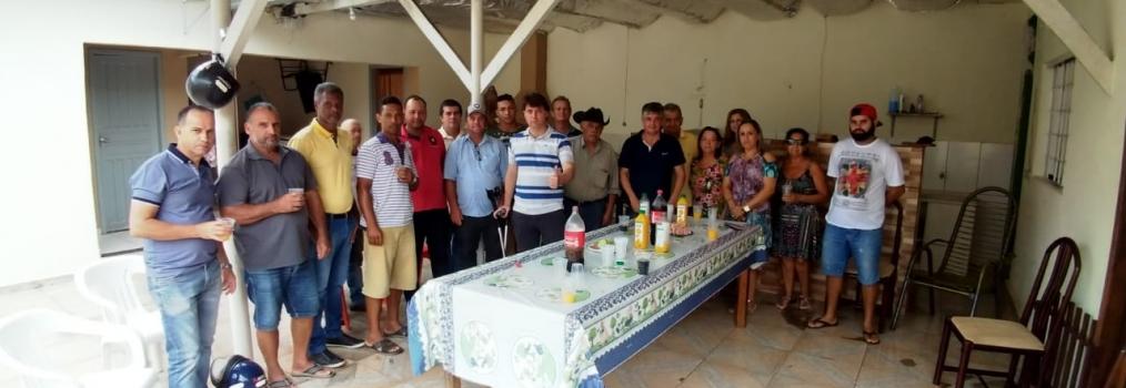 Visita aos amigos de Moreira Sales.