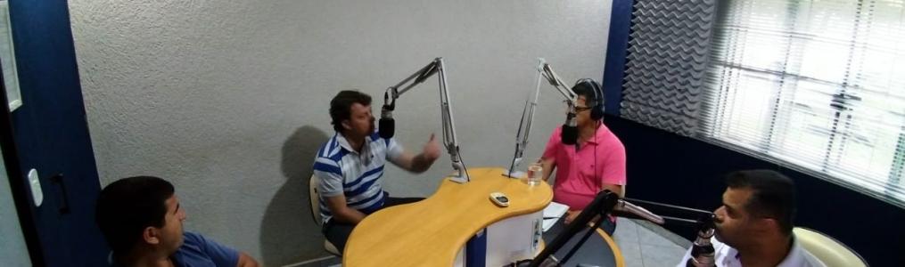 Entrevista na Rádio FM 104 em Goioerê