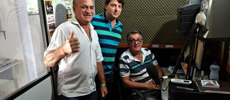 Entrevista na Rádio Skala FM 87.9 em Paranavaí