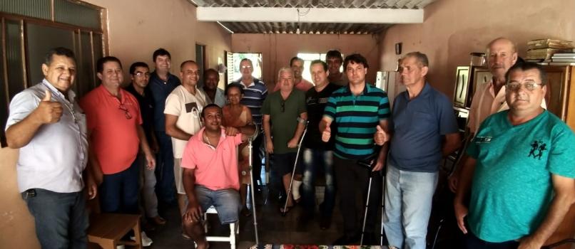 Anibelli visita o município de Munhoz de Mello e anuncia 152 mil reais de emenda para saúde.