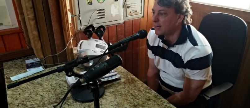 Visita à rádio Transamérica de Paranavaí.