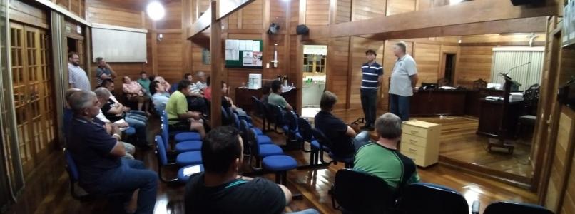 Deputado Anibelli Neto participou de reunião do MDB de Porto Vitória