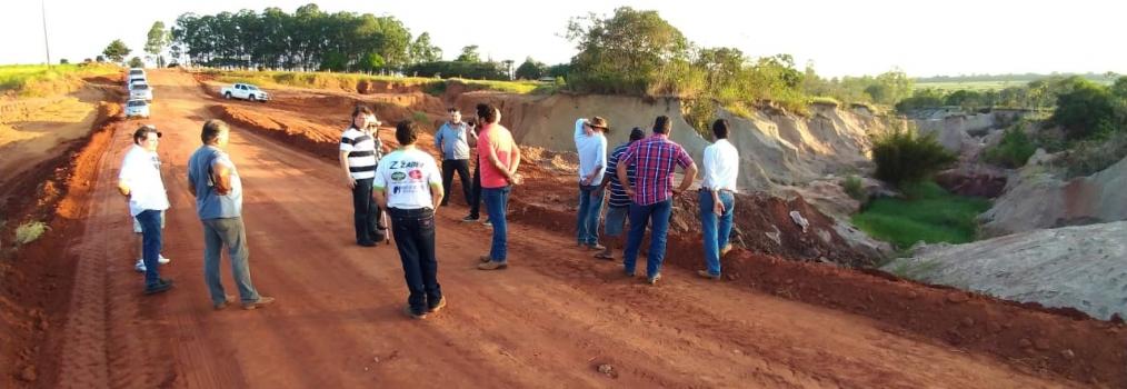 Anibelli Neto participa da liberação da Estrada Rural do Distrito de Nordestina em Amaporã
