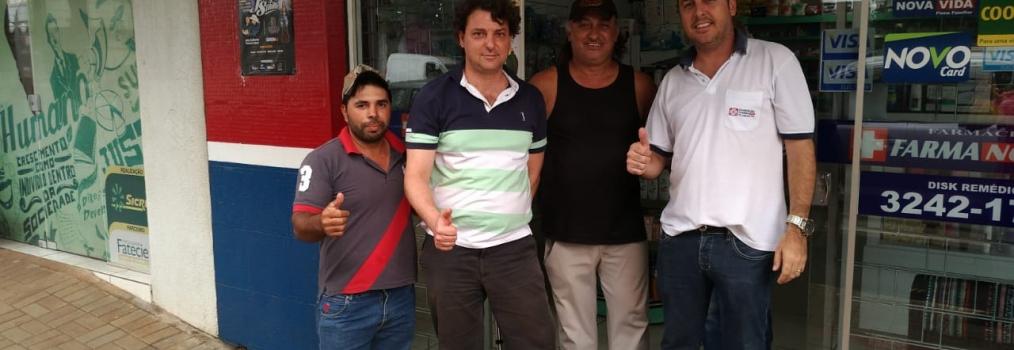 Visita ao amigo Michel em Floraí