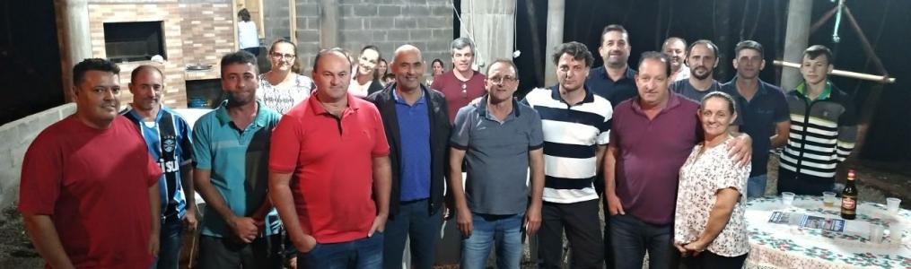 Reunião do MDB no município de Pinhal São Bento.