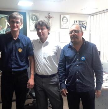 Anibelli Neto recebe visita de lideranças do município de Paulo Frontin.