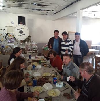 Anibelli Neto prestigia festa na comunidade de Trigolândia no município de Piên.