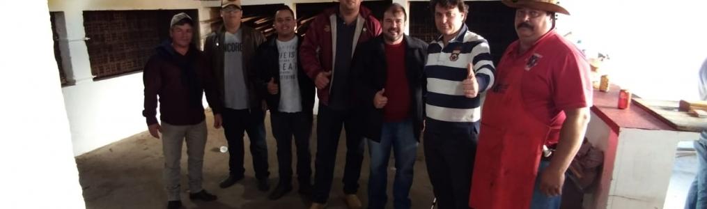 Anibelli Neto prestigia a Festa do Divino no município de Campo do Tenente