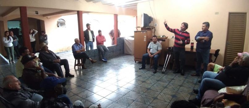 Deputado Anibelli Neto visita amigo do Município de Ângulo.