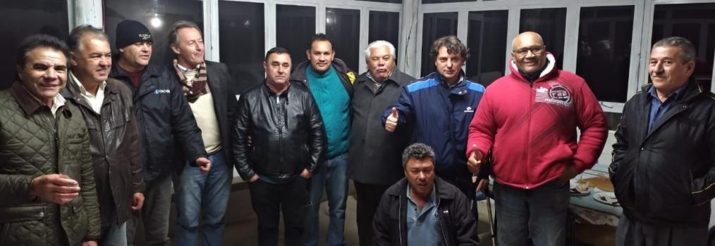 Visita o amigo Nenê Taborda em Mandirituba.