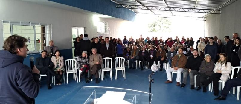 Anibelli Neto em Quatro Barras.