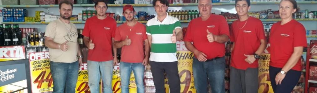 Anibelli Neto visita o vereador Purga do MDB da Lapa.