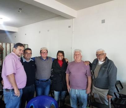 Visita aos amigos de Santa Isabel do Ivaí.