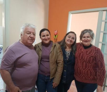 Visita à Vereadora Jandira, do Município de Loanda