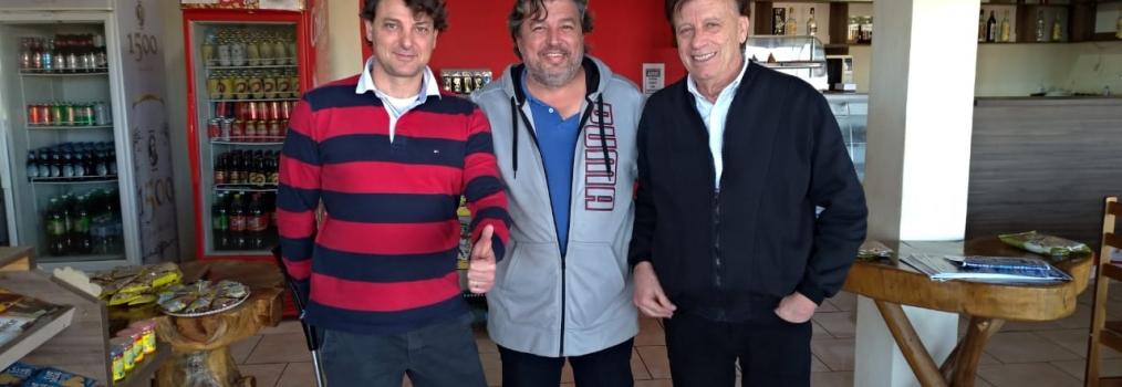 Anibelli Neto visita Sertaneja