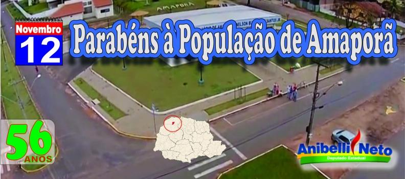 Parabéns à População de Amaporã