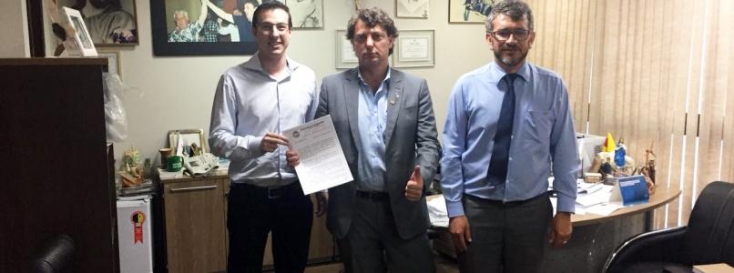 Anibelli Neto recebe prefeito de Chopinzinho