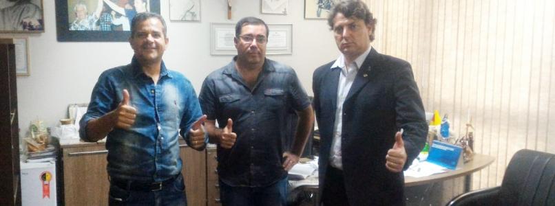 Anibelli recebeu a visita do vice-prefeito Frazinho do Município Rio Bom.